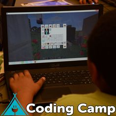 Teach kids computer programming with Minecraft®! In 4 weeks of this online afterschool camp, students will learn the basics of coding through their favorite game. Learning Tools, Fun Learning, Teaching Kids, Programming For Kids, Computer Programming, Kids Computer, Summer Fun For Kids, Interactive Stories, Coding For Kids