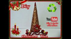 Diy. Christmas ornaments . ( Christmas Tree ) Diy & Crafts with Mirna