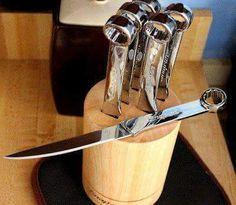 Cuchillos hechos de herramientas y demás. - Taringa!