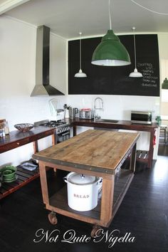 french fork trelawney farm mudgee - like the rolling kitchen island