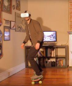 DIY Virtual Reality Skateboard Experience With Arduino and Google Cardboard