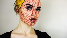 popart makeup ideas halloween Makeup women