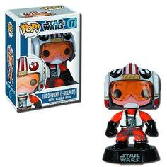 Funko POP Star Wars (BOBBLE): Luke Skywalker X-Wing Pilot