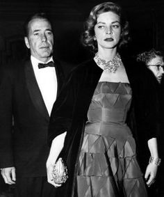 Bogart & Bacall at the Oscars