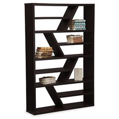 Zigzag Accent Pieces Bookcase - Value City Furniture $199.99