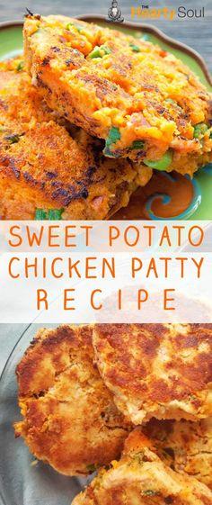 Sweet Potato Chicken Patty Recipe