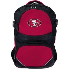 NFL San Francisco 49ers Fusion Backpack, Red