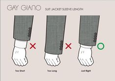 Suit jacket sleeve length. @ggiano3d - - #mensuits #suits #tailoring #gentleman #bespoke #mensfashion #tailor #menswear #sprezzatura… Mens Spring Fashion Outfits, Mens Fashion Suits, Mens Suits, Mens Style Guide, Men Style Tips, Real Men Real Style, Business Outfit, Sharp Dressed Man, Men's Grooming