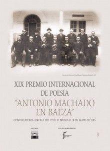 """XIX Premio Internacional de Poesía """"ANTONIO MACHADO EN BAEZA"""" – 6.000 euros"""