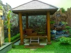 contoh dan gambar kolam ikan unik rumah minimalis gambar