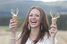 A budget PR campaign to promote the 2011 Venison Festival in Royal Deeside, Donside and the Cairngorms by Tricker PR:  'Deer Oh Deer – Venison Ice Cream – Whatever Next?'