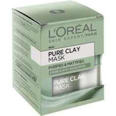 L'Oreal Dermo Pure Clay Mask Purify + Mattify - 50ml