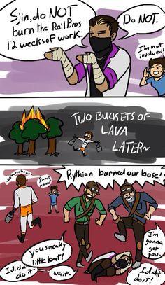 Oh my god poor Rythian