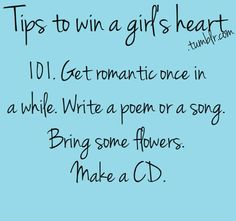 Make a CD with songs that remind me of her. Drop in the Ocean See the Light Will Wait Won't Give Up Give Me a Reason the Girl Stay Stay Stay Because I Love You, What Is Love, My Love, Cute Quotes, Funny Quotes, I Wont Give Up, Win My Heart, I Saw The Light, Romantic Dates