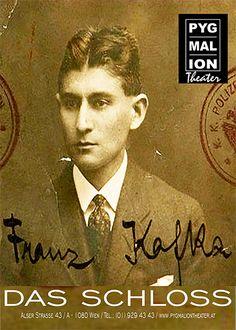 Tickets für DAS SCHLOSS von Franz Kafka am 4., 20. und 25.11. im Pygmalion Theater in Wien Price Tickets, German Language, Short Stories, Theater, Writer, November, Novels, Events, Movie Posters