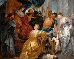 Peter Paul Rubens Women   Peter Paul Rubens (1577-1640), The Judgement of Solomon, c. 1617