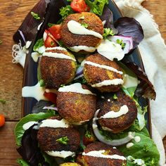 10-ingredient, classic falafels kept vegan and gluten-free and pan fried to perfection! A faster, easy way to make falafel the traditional way!