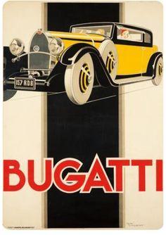 Publicité Bugatti.
