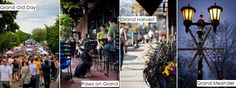 Grand Avenue Events: Grand Old Day, Paws on Grand, Grand Harvest, Grand Meander!   Grand Ave Business Association