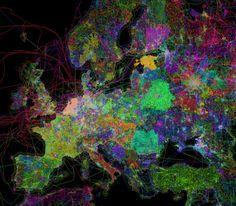 OpenStreetMap's Contributor Community visualized