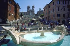 Have you seen the Barcaccia Fountain after the restoration? Discover the Spanish Steps and most important landmarks in Rome on this 3 hours tour at the special price of 30 euro! http://www.rome4all.com/en/detail_tour.php?id=81&titolo=SPECIAL-OFFER-Tour-Squares-and-Fountains-of-Rome