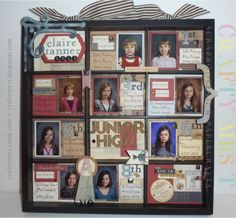 School years display tray by Renee Tanner, Crafty Mrs. T - Great idea!