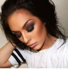 beauty, makeup, and make up image Flawless Makeup, Gorgeous Makeup, Pretty Makeup, Love Makeup, Makeup Inspo, Glamorous Makeup, Perfect Makeup, Gorgeous Hair, Makeup Goals