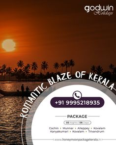 Book our Kerala backwater trip and get immersed into the pristine beauty of Kerala! For Booking: Call / Whatsapp : +91 9995218935, +91 9895999412 Website : www.honeymoonpackagekerala.in | www.godwinholidays.com #backwaters #packages #travel #nature #explore #Kerala #Godwinholidays