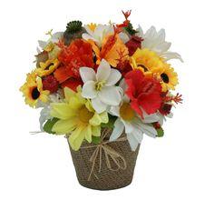#aranjament #flori #artificiale si plante naturale uscate