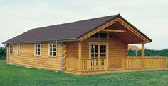 $35,000 for this Log Cabin with Wrap Around Porch, Check out the Floorplans