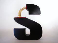 delightful and creepy  Evolution of Type, Exhibits 1-5 by Andreas Scheiger, via Behance
