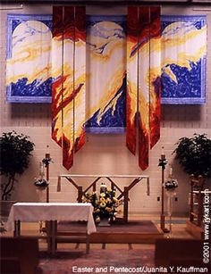 Pentecost (added to Easter) Juanita Yoder, artist