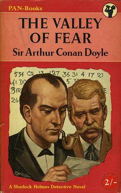 The Valley of Fear... Sir Arthur Conan Doyle...