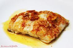 La cocina de Gibello: Bacalao al pimentón de La Vera Cod Fillet Recipes, Fish Recipes, Seafood Recipes, New Recipes, Cooking Recipes, Healthy Recipes, Pescado Recipe, How To Cook Fish, Fish And Seafood