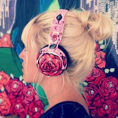 Ooooh que chulos! headphones #RDStepIntoFall
