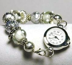 BEADED WATCH INTERCHANGEABLE by BJFDESIGNS on Etsy, $18.00