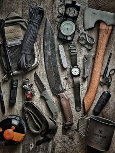 Bushcraft Gear, Bushcraft Camping, Camping Survival, Outdoor Survival, Survival Kit, Survival Skills, Outdoor Gear, Zombie Survival Gear, Edc Tactical