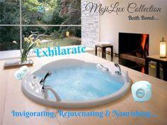 MojiLife Bathbomb MojiLux Collection Exhilarate.