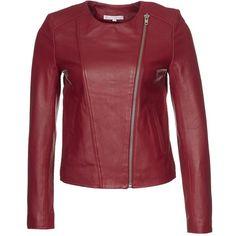 Paul & Joe Sister GREMLINS Leather jacket ($520) ❤ liked on Polyvore