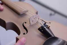 Hands-on with the EOS 3D-printed Stradivarius violin