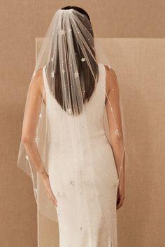 Astile Veil - BHLDN Nude Gown, Star Wedding, Wedding Ideas, Wedding Stuff, Dream Wedding, Bridal Skirts, Gold Cocktail Dress, Celestial Wedding, Printed Gowns