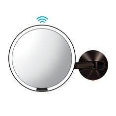 simplehuman Sensor Wall Mount Makeup Mirror, Dark Bronze Steel - Just what I needed and works great.If you have been looking for top recommended best vanity tab