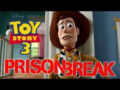 Toy Story 3 Game - Prison Break - Sheriff Woody - Buzz Lightyear