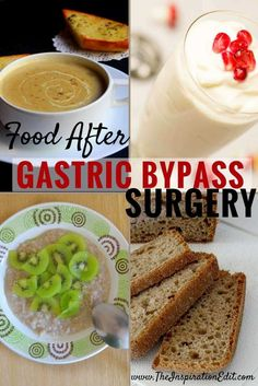 Here are some Food to Eat After Gastric Bypass Surgery