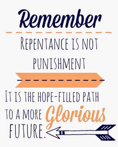 Blue Skies Ahead: Repentance Family Home Evening {Alma the Younger and Sons of Mosiah Repent}