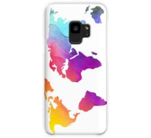 'Colorful World Map Design' Case/Skin for Samsung Galaxy by sagetypo World Map Design, Writer, Samsung Galaxy, Colorful, Pictures, Ideas, Photos, Photo Illustration, Writers