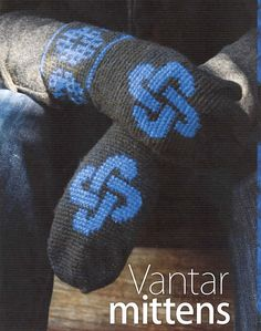 Ravelry: Vantar Mittens pattern by Erssie ~ it's hard for me to keep up with all the fashions ;(
