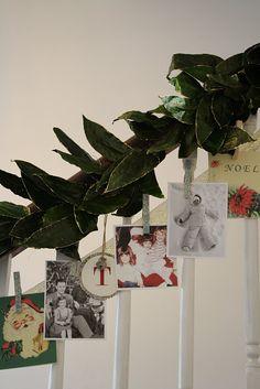 Christmas Photo/Card Garland