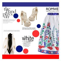 """The Band Plays On"" by aminkicakloko ❤ liked on Polyvore featuring мода и romwe"