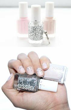 She Said Oui!: Holiday nails for brides